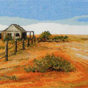 Country Threads Cross Stitch SUNBURNT COUNTRY Pattern New X Stitch FJP-1056 (CT)