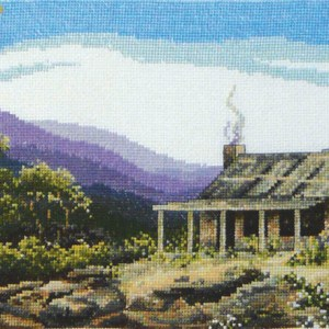 Country Threads Cross Stitch MOUNTAIN RANGES Pattern New X Stitch FJP-1058 (CT)