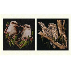 Country Threads Cross Stitch AUSTRALIAN BIRDS 2 Pattern X Stitch FJP-1040-46 (CT)