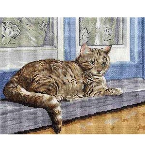 DMC Cross Stitch Kit A FAVOURITE PLACE Counted X-Stitch with Aida and Threads BK1436