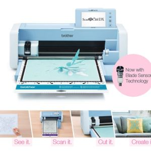 Brother Scan N Cut SDX1200 Scan & Cut Quilting Paper Vinyl Cutting Machine inc Mats New