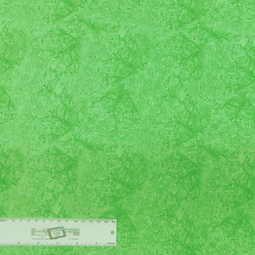 Patchwork Quilting Sewing Fabric Mystique D689714 Bush Green 50x110cm 1//2m New