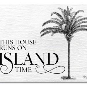 Kitchen Cork Backed Placemats AND Coasters PLANTATION ISLAND Set 6 NEW