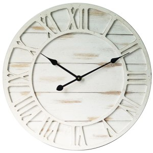Clock Country Vintage Inspired Wall Clocks 60cm HAMPTONS CLOCK New
