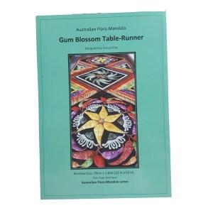 Quilting Sewing Australian Flora Mandala Pattern GUM BLOSSOM Table Runner New