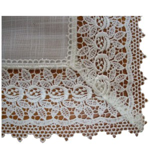 French Country Doiley SEVILLE NATURAL Doily Lace Table or Duchess 30x30cm New