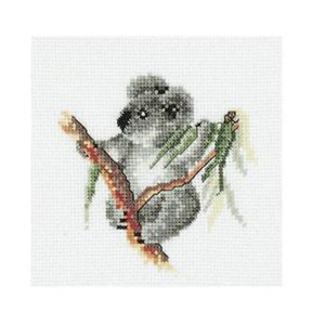 Cross Stitch Kit Counted DMC AUSTRALIANA BABY KOALA X Stitch Kit New AXRS.003