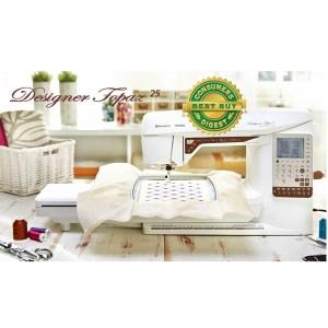 Husqvarna Viking Topaz 25, Sewing Quilting & Embroidery Machine NEW 5yr Warranty