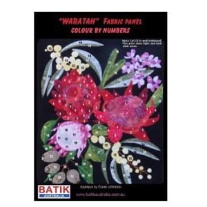 Fat Quarter KIT Batik Quilt x Numbers WARATAH Patchwork Quilting Fabric Sewing New
