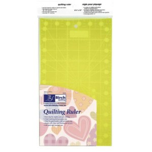 "Quilting Patchwork Sewing Template Rectangle 12"" x 6.5"" Birch New"