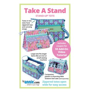 Quilting Sewing Patchwork TAKE A STAND Pattern By Annie New