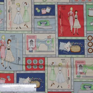 Patchwork Quilting Sewing Fabric BETTER STITCHING Panel 60x110cm New