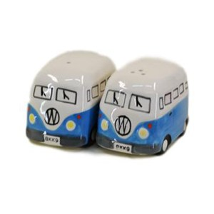 French Country Collectable Novelty Kitchen Kombi BLUE Salt and Pepper Set New