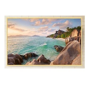 5D Diamond Painting Full Image Square Drills BEACH LANDSCAPE 20x25cm New