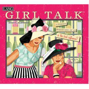 2020 Lang Calendar GIRL TALK by Lori Siebert New Calender Fits Wall Frame