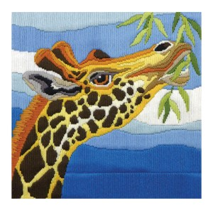 Country Threads Long Stitch Kit GIRAFFE FLS-5013 Inc Threads New