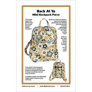 Quilting Sewing Patchwork BACK AT YA Pattern By Annie New