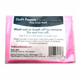 Quilting Stencil Marker Chalk Reusable for Quilt Stencils Refill Only PINK New