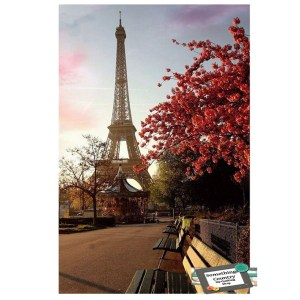 5D Diamond Painting Full Image Square Drills EIFFEL TOWER 40x50cm New