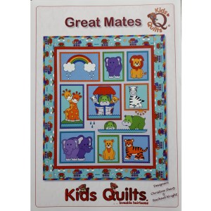 Quilting Sewing Quilt Pattern GREAT MATES NOAH Inspired Patchwork Pattern New