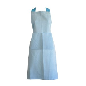Country Kitchen Cooking HERRINGBONE Apron BLUE Full Adult Size New