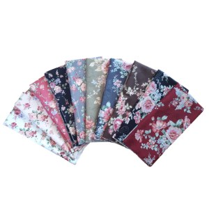 Quilting Patchwork Sewing Fat Quarter Pack 10 FLORAL PROMISE Material New