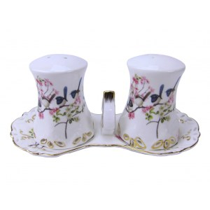 French Country Chic Kitchen Salt and Pepper Set BLUE WREN New