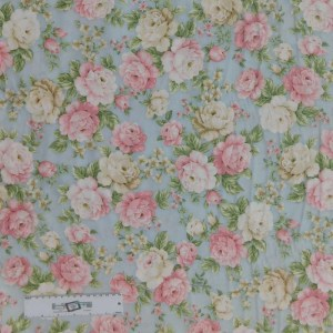 Quilting Patchwork Sewing Fabric EATON PLACE FLORAL 50x55cm FQ New Material