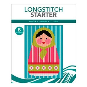 Create Handmade Long Stitch Kit Beginner BABUSHKA 11x15cm New