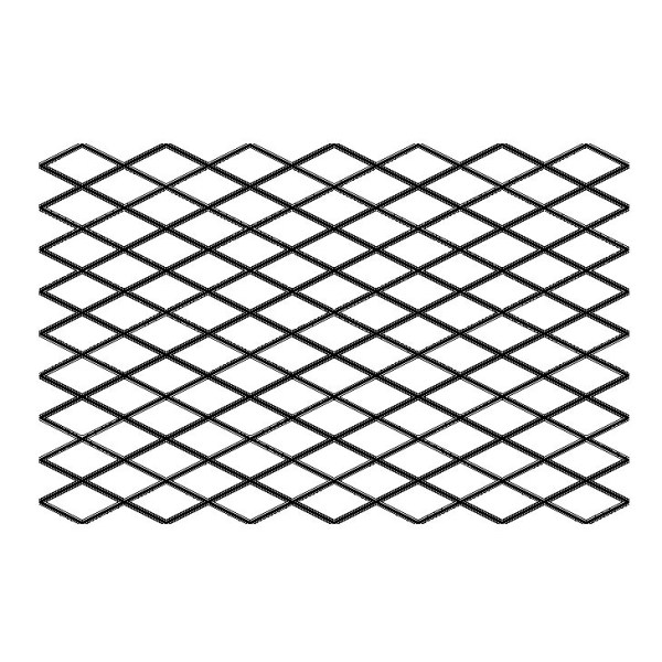 Quilting Full Line Stencil DIAMOND GRID Reusable A3 use with Pounce