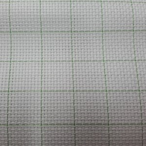 Cross Stitch Aida Cloth 14ct EASY COUNT WHITE Size 30x50cm New Fabric
