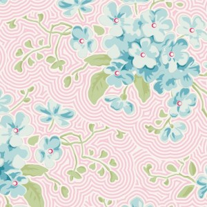 Quilting Patchwork Sewing Fabric TILDA HAPPY CAMPER PRIMROSE PINK 50x55cm FQ