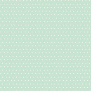 Quilting Patchwork Sewing Fabric AQUA BLUE SPOTS 50x55cm FQ New