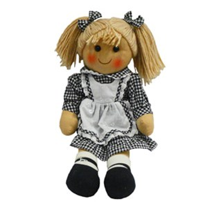 Hopscotch Lovely Soft Rag Doll BETHANY Girl Dressed Doll Large 35cm