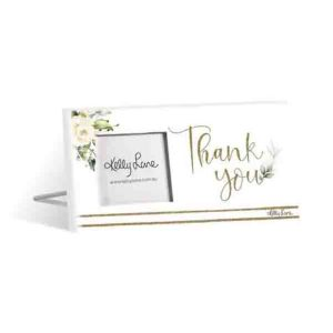 French Country Standing Occasions THANK YOU 3x3inch Photo Frame