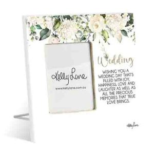 French Country Standing Occasions WEDDING Photo Frame
