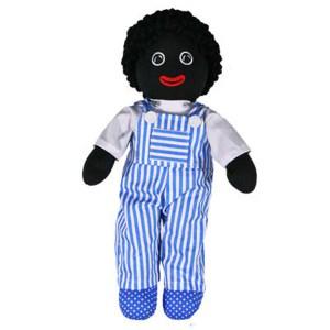 Hopscotch Lovely Soft Rag Doll BASIL Boy Dressed Doll Large 35cm