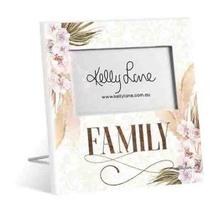 French Country Standing Bismark FAMILY 6x4inch Photo Frame