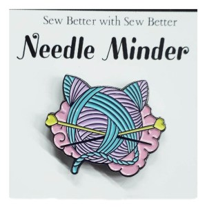 Sew Better Cross Stitch Needle Minder Keeper CROCHET QUEEN
