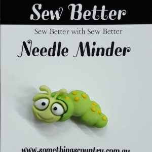Sew Better Cross Stitch Needle Minder Keeper BOOK WORM