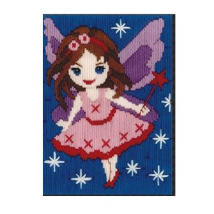 BEUTRON Long Stitch Kit Kids Beginner FAIRY 13x18cm 579875