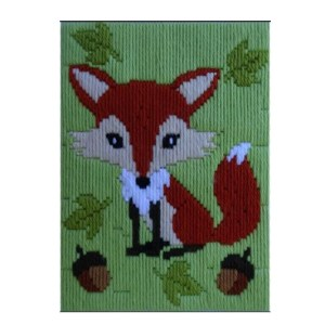 BEUTRON Long Stitch Kit Kids Beginner FOX 585211