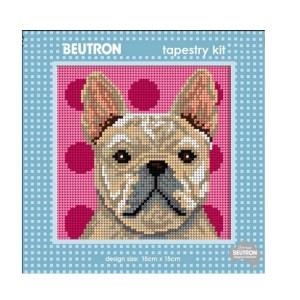 Beautron Handmade Tapestry Kit Beginner FRENCH BULL DOG 585113
