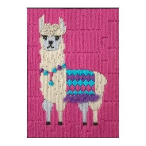 BEUTRON Long Stitch Kit Kids Beginner LLAMA 585225