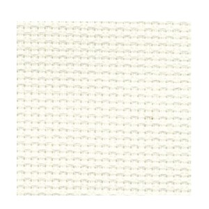 Cross X Stitch Aida Cloth 18ct WHITE Size 50x75cm Fabric