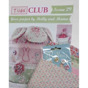 Tilda Club 03/20 Issue 29 Quilting Sewing Fabric Issue Craft Pattern Kit