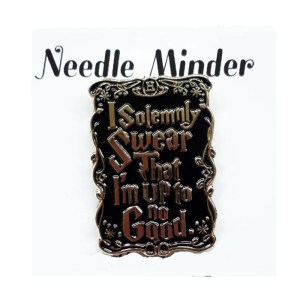 Sew Better Cross Stitch Needle Minder Keeper SOLEMNLY SWEAR