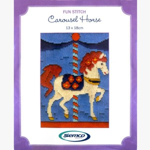 Semco Long Stitch Kit Kids Beginner CAROUSEL 6002.08