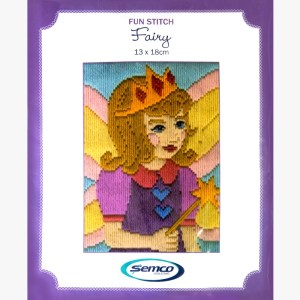 Semco Long Stitch Kit Kids Beginner FAIRY 6002.07