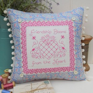 Quilting Sewing Cushion Pattern FRIENDSHIP BLOOMS Rivendale Collection